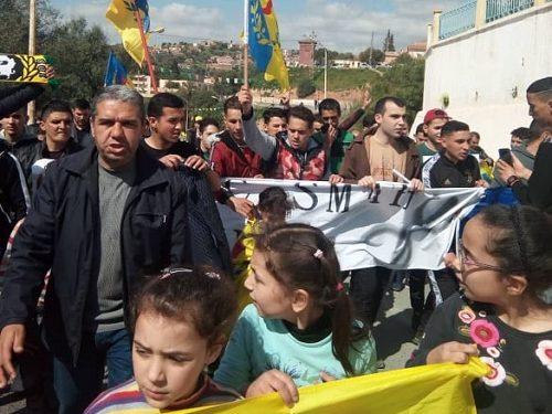 La Kabylie réaffirme son combat et son rejet de l'élection présidentielle algérienne