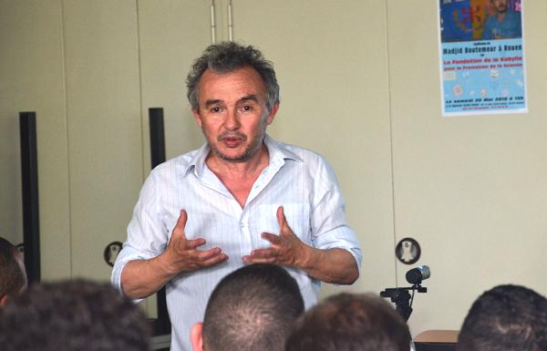 Madjid Boutemeur adhère officiellement au mouvement pour l'autodétermination de la Kabylie