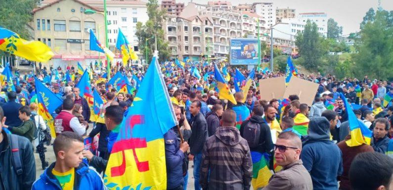 Marches grandioses pour l'indépendance de la Kabylie : Ferhat Mehenni félicite les centaines de milliers de Kabyles qui ont marché le 20 avril 2019 partout dans le monde