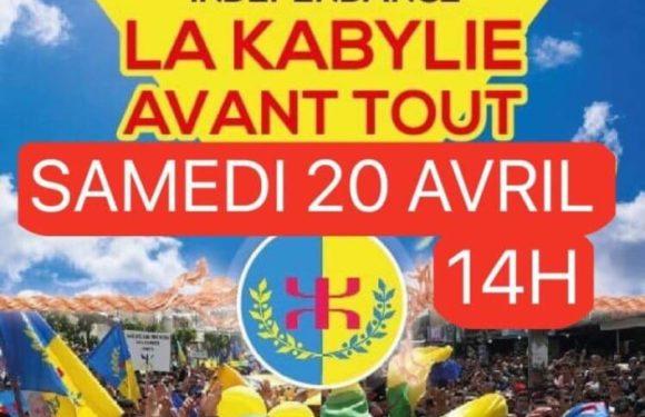 Vidéo événement de la marche du 20 avril