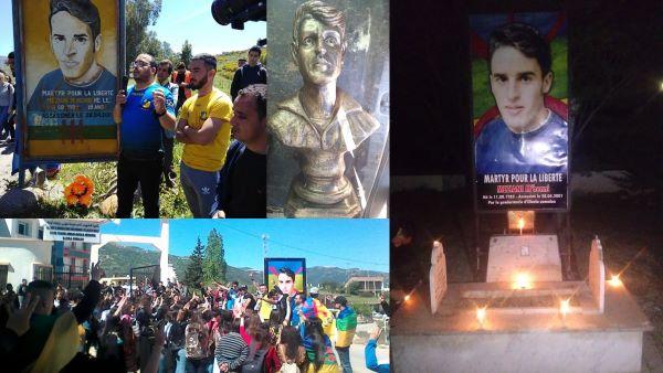 Hommage au martyr kabyle Meziani M'henni, à Illulen Umalu