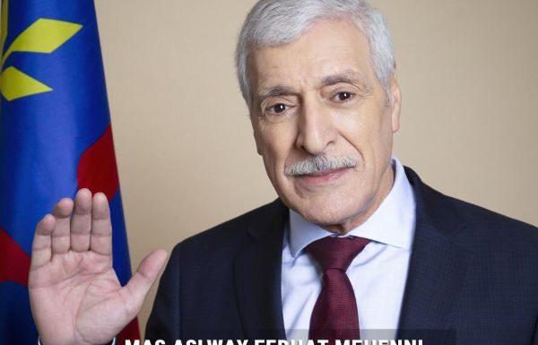 Portrait officiel de mas Aselway Ferhat Mehenni