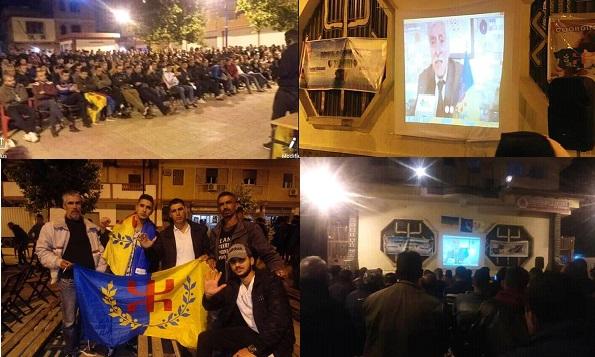 Vidéo-conférence, le président du MAK-Anavad, FerhatMehenni,appelle le peuple kabyle à se libérer du joug de la colonisation algérienne