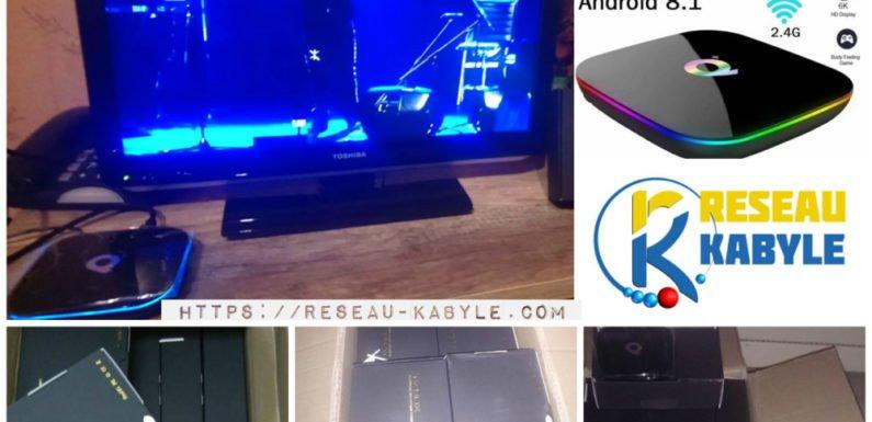 Mise en vente des boîtiers IPTV pour capter TaqVaylit.TV via internet
