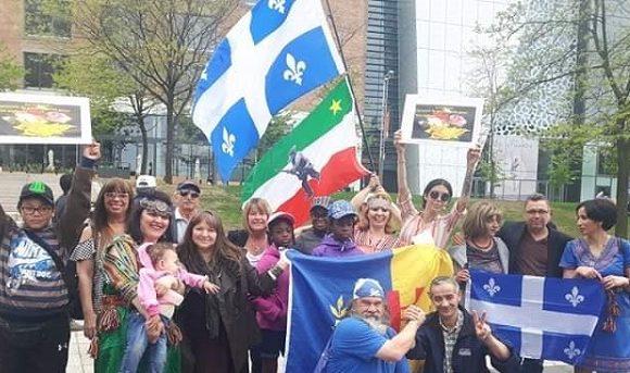 Le Conseil d'administration de l'association Amitié Québec-Kabylie remercie les membres de communauté kabyles qui ont marqué par leur présence le rassemblement pour la laïcité à la Place des Festivals à Montréal