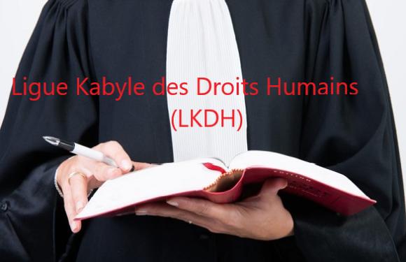 Lettre de la LKDH, adressée à l'ordre des avocats de Vgayet et à l'opinion publique