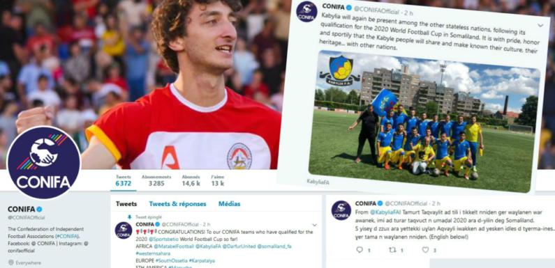 La Kabylie qualifiée pour la Coupe du monde 2020 au Somaliland
