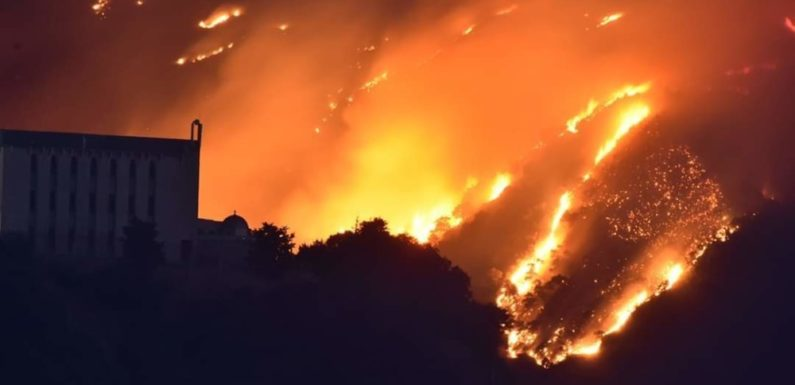 La Kabylie en feu, nos villages sont visés