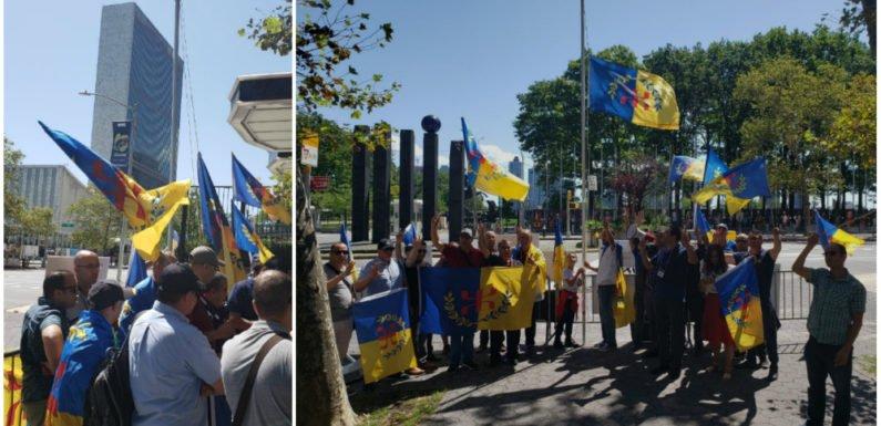Compte rendu du rassemblement kabyle devant le siège de l'ONU à New York, à l'appel du MAK-Amérique du Nord