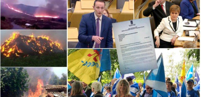 Incendies criminels en Kabylie : le gouvernement écossais saisi par le député Fulton MacGregor