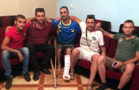 Une délégation du MAK rend visite au poète-militant Anza Samir Mokrani