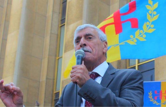 Ferhat Mehenni, l'invité surprise aux procès des détenus du drapeau amazigh