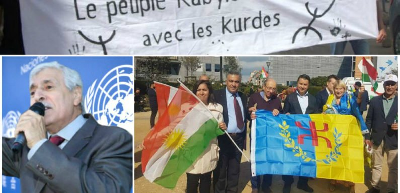 La Kabylie condamne l'agression turque contre le peuple kurde