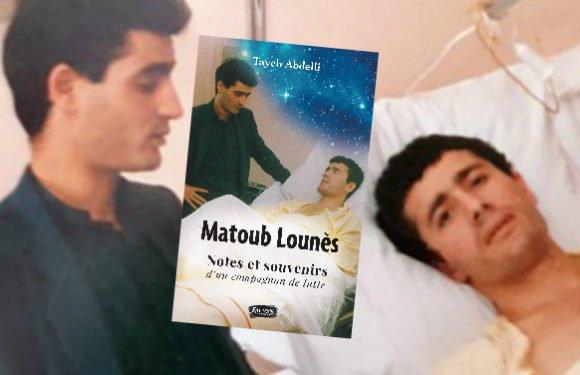 Le spectre Matoub Lounès vous hantera pour l'éternité ! Chronique de Dda Teyyev
