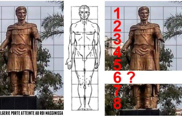 Atteinte au Roi de la Numidie : L'Algérie coloniale inaugure une statue de Massinissa «court sur pattes»