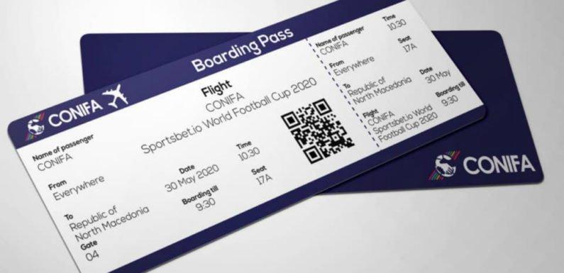 La Coupe du monde CONIFA 2020 aura lieu à Skopje