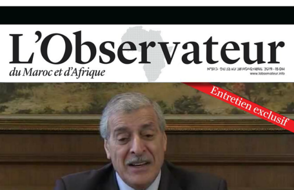 Le président Ferhat Mehenni accorde un entretien exclusif à l'Observateur du Maroc et d'Afrique