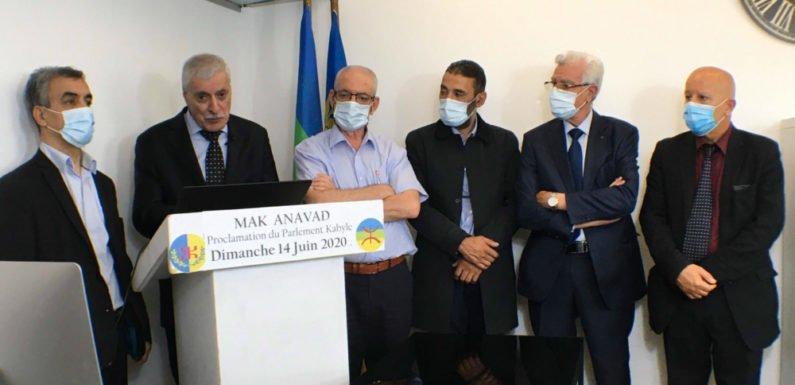Historique : Proclamation de l'Imni aqvayli (Parlement kabyle) ce 14 juin 2020, Journée de la nation kabyle
