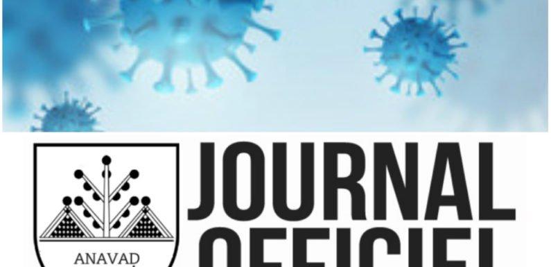 Paru au Journal Officiel de la Kabylie : Décret portant instauration d'un second état d'urgence sanitaire en Kabylie