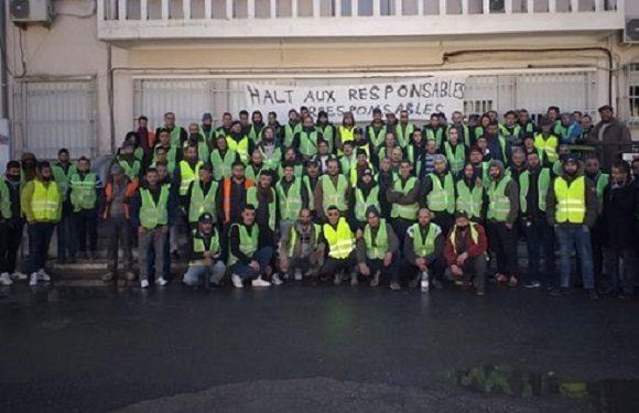 Le siège d'APC d'Iwadiyen fermé par les ouvriers de l'entreprise IMMOB