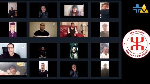COVID19 – DES ARTISTES KABYLES S'ENGAGENT AVEC L'AZA ROUGE