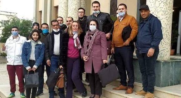 PERSÉCUTION JUDICIAIRE ALGÉRIENNE – LE MILITANT SOFIANE BABACI CONDAMNÉ ARBITRAIREMENT À UNE ANNÉE DE PRISON FERME AVEC AMENDE