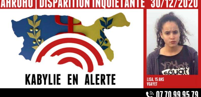Alerte : disparition inquiétante à Vgayet