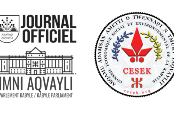 Le président de l'Anavad a promulgué la loi portant création du Conseil économique, social et environnemental de la Kabylie (CESEK)