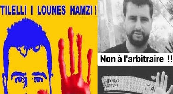 LE COMITÉ DE SOUTIEN À LOUNÈS HAMZI APPELLE À UNE MARCHE PACIFIQUE POUR LE 29 JANVIER