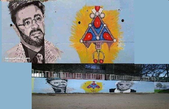 LES GRAFFITIS PRO-KABYLES D'AIT AMRANE SONT REFAITS