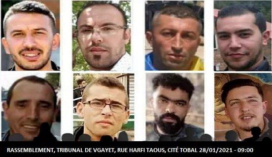 HALTE AU HARCÈLEMENT JUDICIAIRE DE L'ALGÉRIE COLONIALE, CONTRE LES MILITANTS POLITIQUES KABYLES