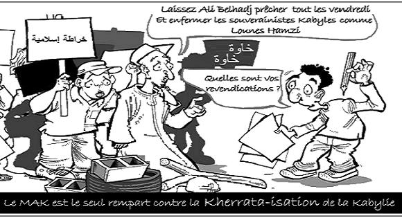 LE MAK EST LE SEUL REMPART CONTRE LA KHERRA-ISATION DE LA KABYLIE
