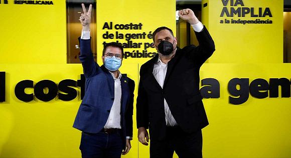 LES INDÉPENDANTISTES CATALANS RENFORCENT LEUR MAJORITÉ AU PARLEMENT RÉGIONAL CATALAN