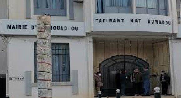 LES ÉLUS COMMUNAUX D'AT VUADOU CONVOQUÉS PAR LA GENDARMERIE COLONIALE