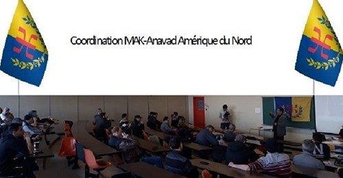 COMMUNIQUÉ DE LA COORDINATION AMÉRIQUE DU NORD