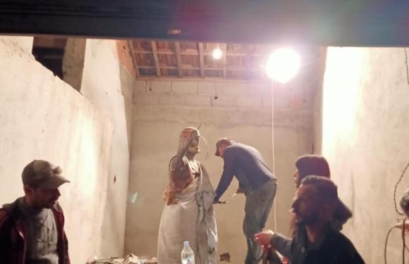 Taxlijt : Lancement des travaux de restauration de la statue d'Aksel