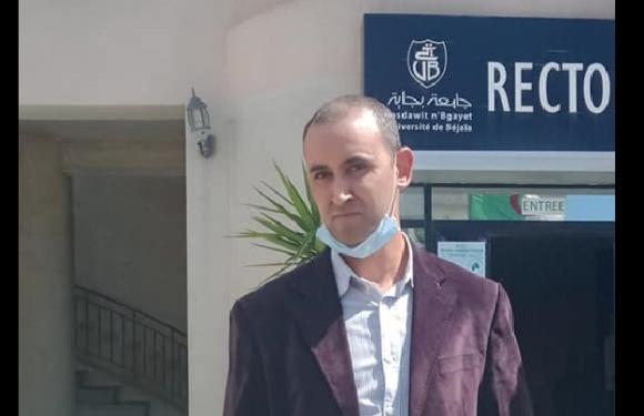 TARIK AZEKAK, ENSEIGNANT À L'UNIVERSITÉ DE VGAYET, MET FIN À SA GRÈVE DE FAIM ILLIMITÉE