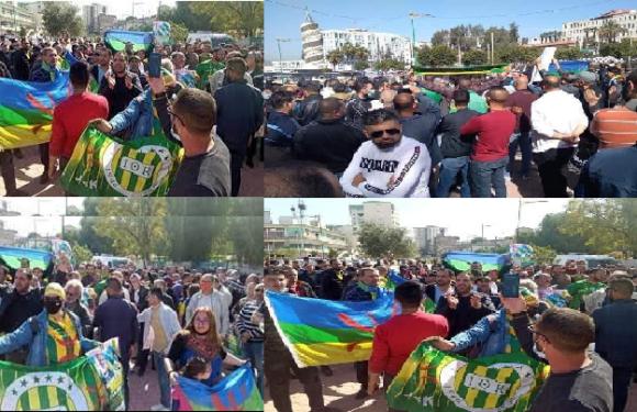 LA MARCHE EN SOUTIEN À CHÉRIF MELLAL EMPÊCHÉE PAR LA POLICE COLONIALE
