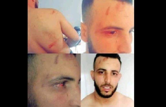 NABIL BOUSEKKINE, LIBÉRÉ AUJOURD'HUI, A ÉTÉ VIOLEMMENT AGRESSÉ LORS DE SON ARRESTATION