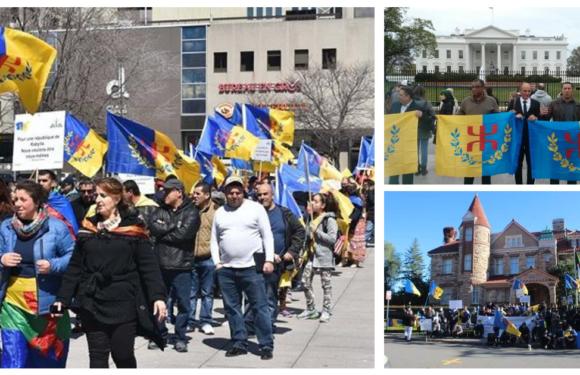 Marches et rassemblements en Amérique du nord pour commémorer les Printemps de Kabylie
