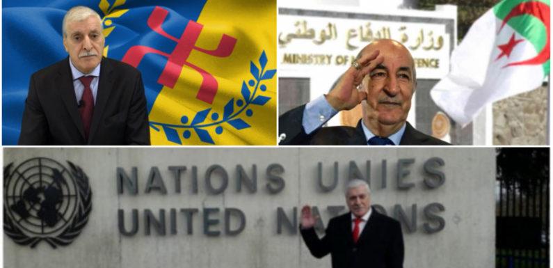 L'Anavad par la voix de son président, classe l'Etat algérien comme Etat terroriste