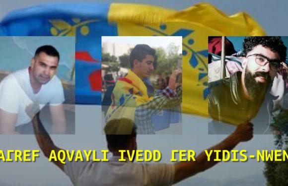 19 avril : Appel à rassemblement à Aqvu en soutien aux militants du MAK harcelés par l'Algérie coloniale