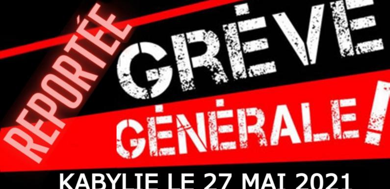 COMMUNIQUÉ DE L'ANAVAD : REPORT DE LA GRÈVE GÉNÉRALE, ANNONCE IMMINENTE D'UNE NOUVELLE DATE