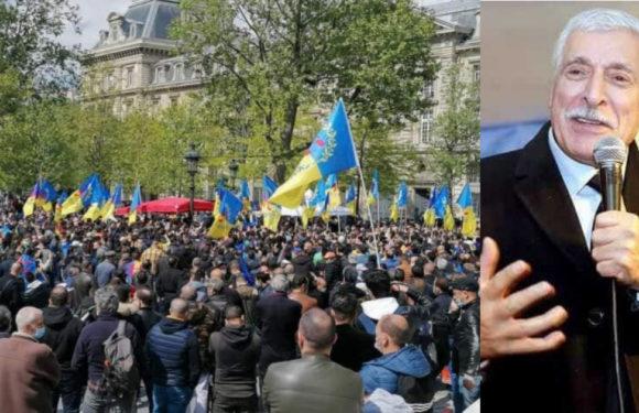 RASSEMBLEMENT UNITAIRE KABYLE À PARIS : LE PRÉSIDENT FERHAT MEHENNI REMERCIE LES ORGANISATEURS
