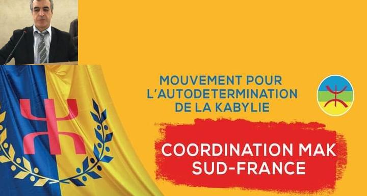 CONDOLÉANCES DE LA COORDINATION MAK SUD-FRANCE À MONSIEUR LE PREMIER MINISTRE DU GOUVERNEMENT PROVISOIRE KABYLE ZIDANE LAFDAL