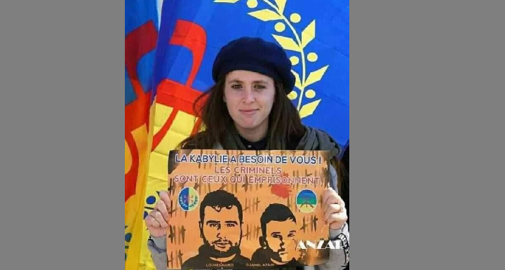 SUR LES TRACES DE NNA FADHMA ET D'OLYMPE, LA FEMME KABYLE FACE À LA JUNTE MILITAIRE ALGÉRIENNE ARABO-ISLAMISTE TERRORISTE, SENILE ET PRIMITIVE