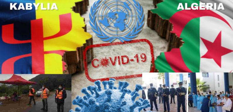 Covid-19 : L'Anavad demande la mise sous cloche sanitaire internationale de la Kabylie