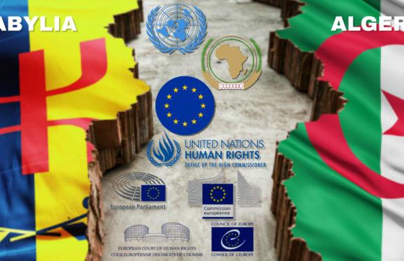 En Kabylie, l'Algérie assimile les droits et libertés au terrorisme : L'Anavad demande l'intervention internationale contre la répression politique en Kabylie