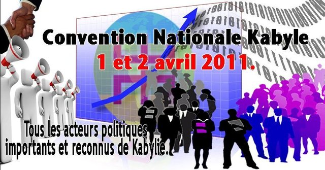 Convention nationale kabyle les 1 et 2 avril : l'avenir de la Kabylie en discussion